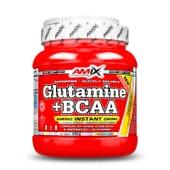 GLUTAMINA + BCAA 530g de Amix