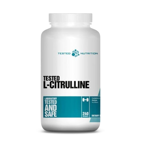 TESTED L-CITRULINA 240 Caps de Tested Nutrition