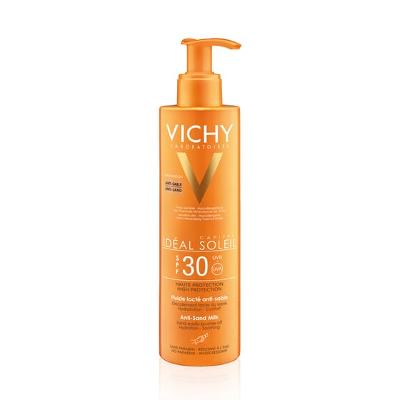 Ideal Soleil Latte Solare Anti-Sabbia SPF30 200 ml di Vichy
