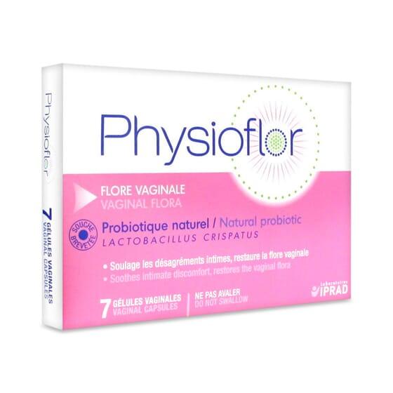 PHYSIOFLOR PROBIÓTICO VAGINAL 7 Caps Vaginais