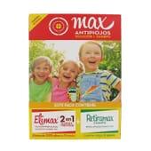 MAX ANTIPIOJOS SOLUCIÓN + CHAMPÚ 1 Pack de Elimax