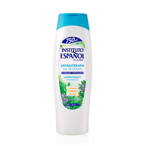 Gel Doccia Aromaterapia Stimolante 750 ml di Instituto Español