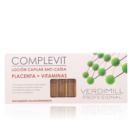 Verdimill Profesional Anti-Caida Placenta 12 ampollas de Verdimill