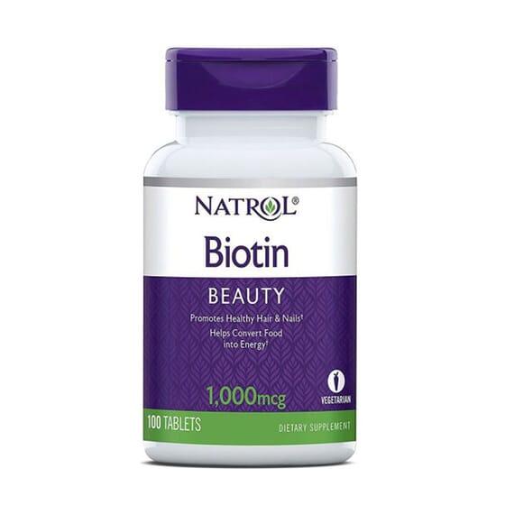 Biotina 1000Mcg - 100 Tabs da Natrol