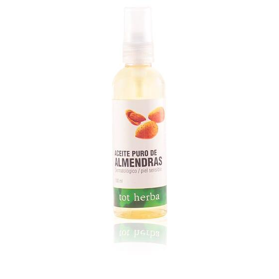 Aceite Cuerpo Puro De Almendras 100 ml de Tot Herba