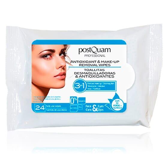 Removal Wipes Antioxidant Make Up 24 uds da Postquam