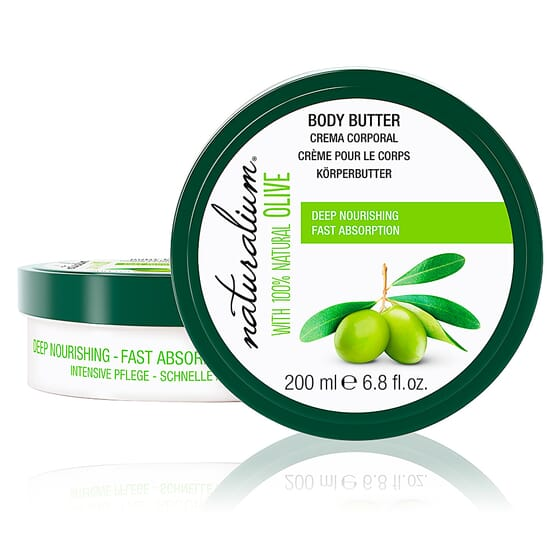 Oliva 100% Body Butter 200 ml da Naturalium