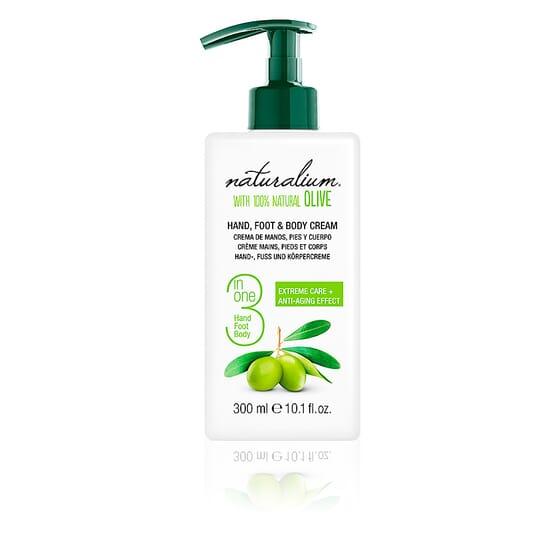 Oliva 100% Hand, Foot & Body Cream 300 ml da Naturalium