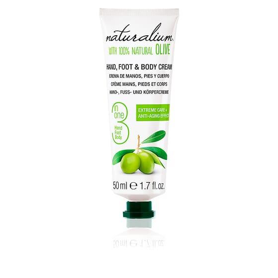 Oliva 100% Hand, Foot & Body Cream 50 ml de Naturalium