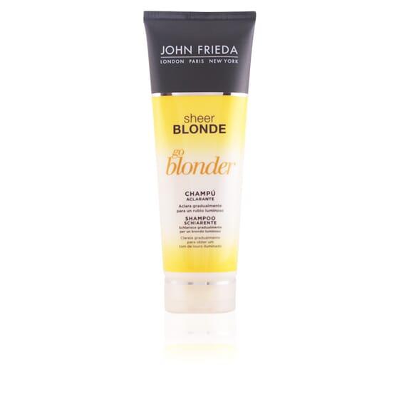 Sheer Blonde Shampooing Éclaircissant Cheveux Blonds 250 ml de John Frieda