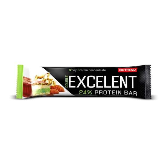 As barras proteicas Excelent Protein Bar contém um 24% de proteínas.