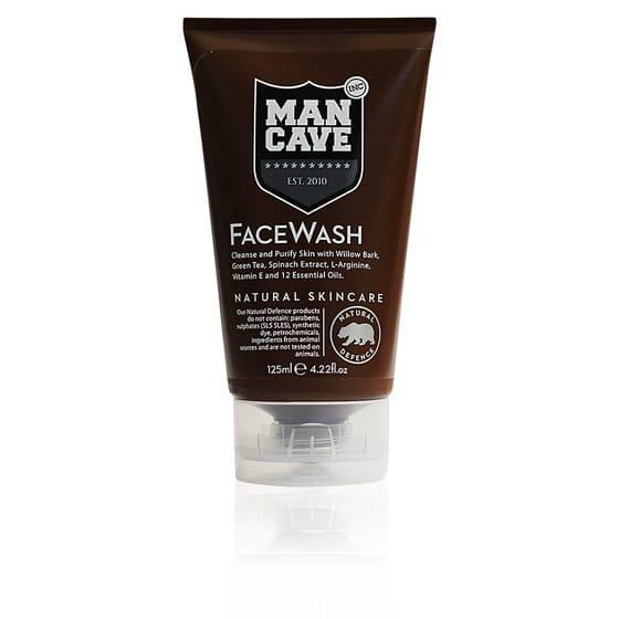 Face Care Wash Natural Skincare 125 ml de Mancave