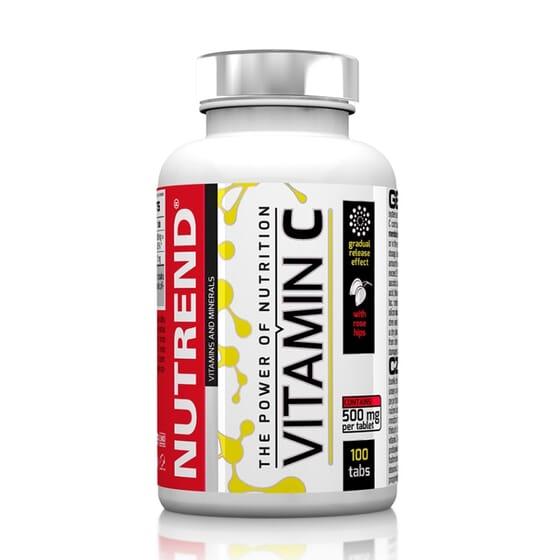 Vitamin C with Rose Hips 100 Tabs de Nutrend