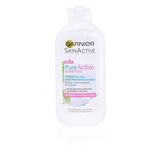 Pure Active Tónico Facial En Gel Piel Sensible 200 ml de Garnier