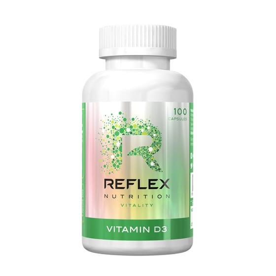 Vitamin D3 - 100 Caps da Reflex Nutrition