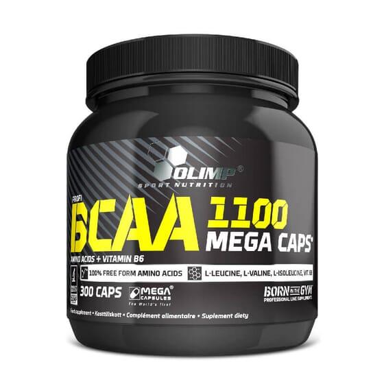 BCAA 1100 Mega Caps - 300 Caps - OLIMP SPORT NUTRITION