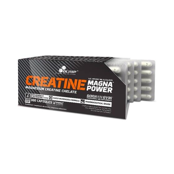 CREATINE MAGNA POWER - 300 Gélules - OLIMP SPORT NUTRITION