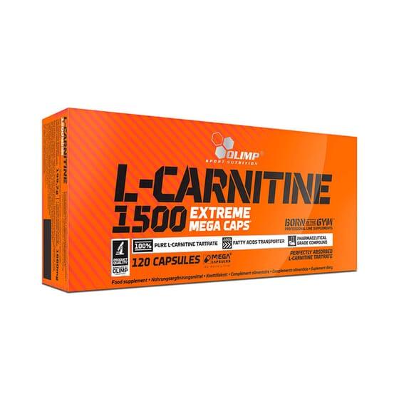 L-Carnitine 1500 Extreme Mega Caps - 120 Caps da Olimp
