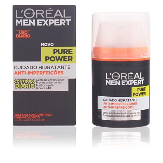 Men Expert Pure Power Hidratante Anti-Imperfecciones 50 ml de LOreal Make Up