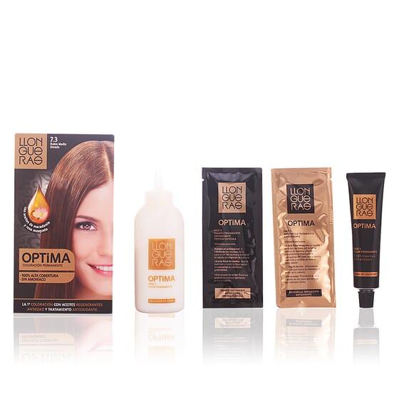 Optima Hair Colour #7.3-Golden Medium Blond da Llongueras