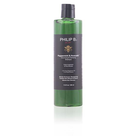 Peppermint & Avocado Volumizing Shampoo 350 ml de Philip B