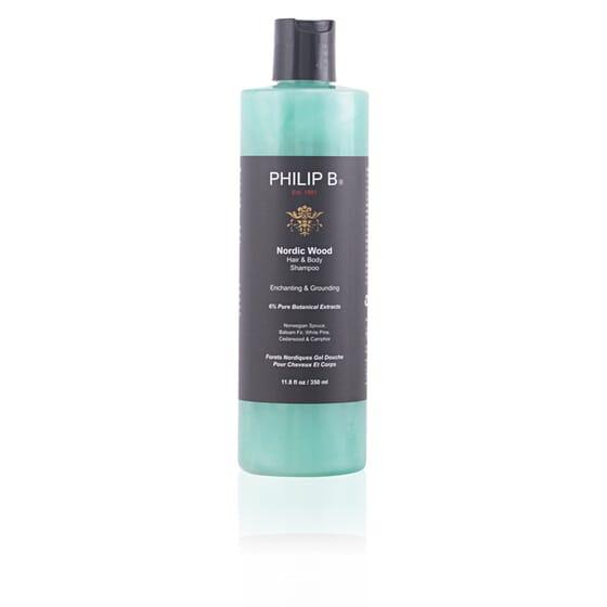 Nordic Wood Hair & Body Shampoo 350 ml de Philip B