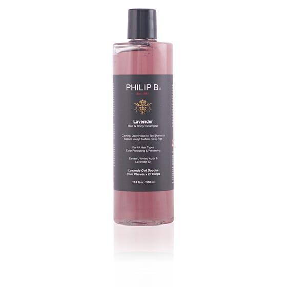 Lavender Hair & Body Shampoo 350 ml de Philip B