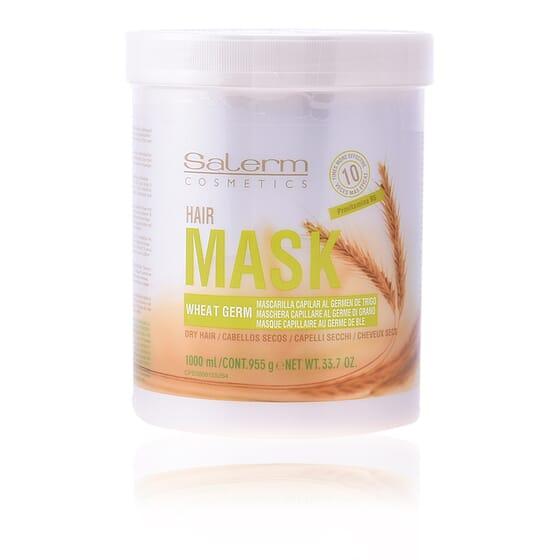 Wheat Germ Hair Mask 1000 ml de Salerm