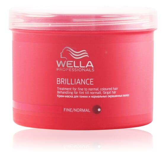 Brilliance Treatment For Fine/Normal Colored Hair 500 ml de Wella