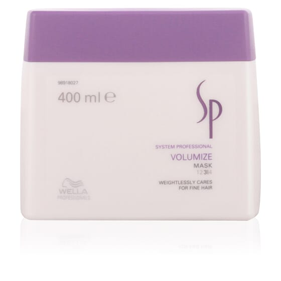 Sp Volumize Mask 400 ml da Wella