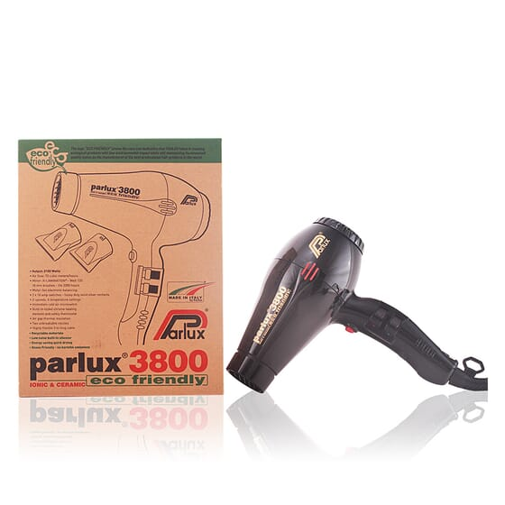 Hair Dryer 3800 ionic & ceramic black de Parlux