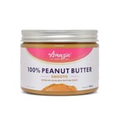 100% CREMA DE CACAHUETE SUAVE 450g - Amazin' Foods