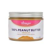 100% CRÈME DE CACAHUÈTE CRUNCHY 450 g de Amazin'Foods