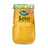 Potito Creme De Abóbora E Puré De Batata Ecológico 190g da Hero Baby