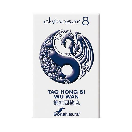 CHINASOR 8 - TAO HONG SI WU WAN 30 Comprimés de Soria Natural