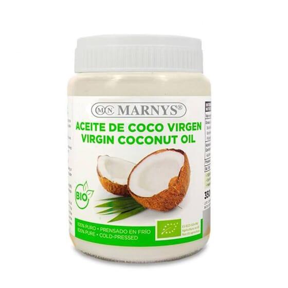 Huile de Noix de Coco Vierge Bio 350 g - Marnys