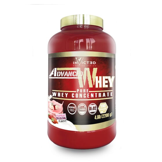 Invicted Advanced Whey 2200 g - Invicted by Nutrisport - WPC