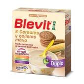 BLEVIT PLUS DUPLO 8 CEREALES Y GALLETAS MARÍA 2X300g