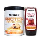 Protein Pancake Mix + Sirope de Fruta y Fibra - Weider