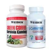 Green Coffee y Garcinia Cambogia + L-Carnitine Capsules - Weider