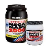 Super Mega Mass 2000 + 400g Gratis - Weider - Subidor de peso