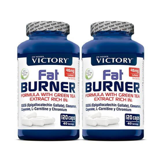 FAT BURNER 2 Ud de 120 Caps de Victory
