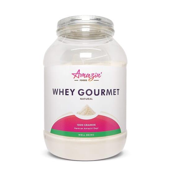 WHEY GOURMET SABOR NATURAL 1000g de Amazin' Foods