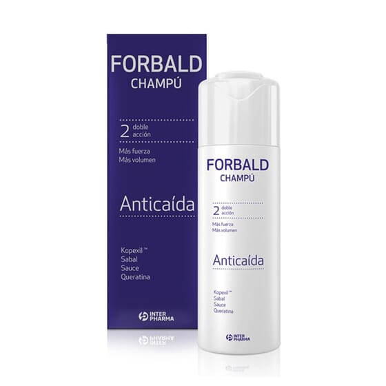 FORBALD CHAMPÚ ANTICAÍDA 250ml de Interpharma
