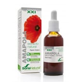 EXTRACTO NATURAL DE AMAPOLA XXI 50ml de Soria Natural