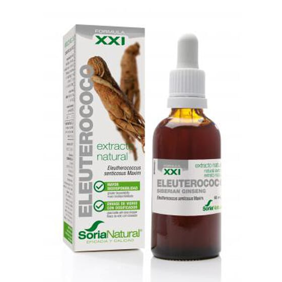 EXTRACTO NATURAL DE ELEUTEROCOCO XXI 50ml de Soria Natural