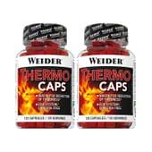 THERMO CAPS 2X1 2 unités de 120 Gélules de Weider