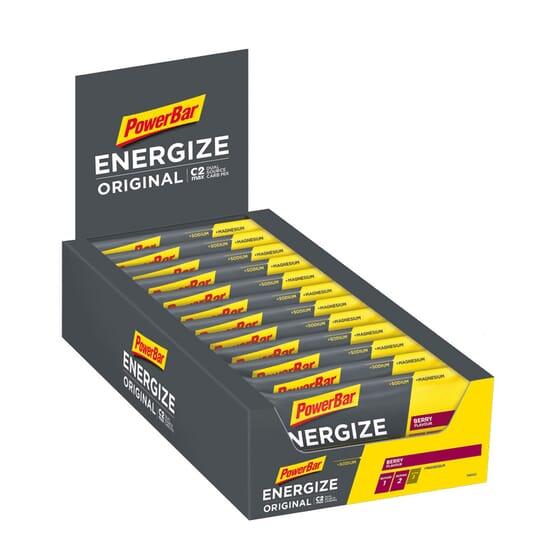 ENERGIZE 25 x 55g de PowerBar
