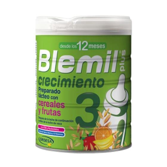 BLEMIL PLUS 3 CRECIMIENTO CEREALES Y FRUTAS 800g