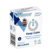 WUG KEEP CALM CHEWING-GUM RELAXANT 6 Chewing-gums de Wugum